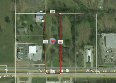 Muldrow Residential Lots & Land For Sale: 300 W Ray Fine BLVD