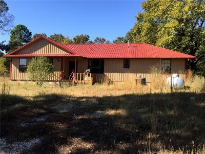 Muldrow Single Family Home For Sale: 105048 State Highway 64b