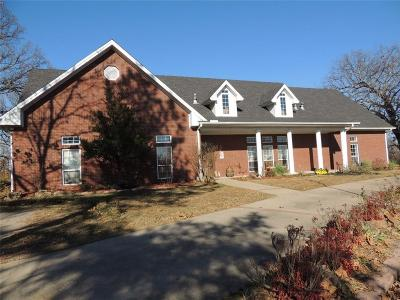 Sallisaw Single Family Home For Sale: 1409 Alex Denton DR