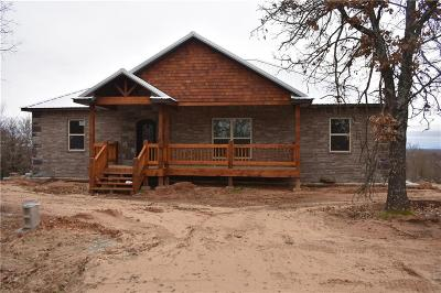 Muldrow Single Family Home For Sale: 2605 Shawntel Smith BLVD