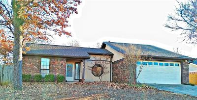Fort Smith Single Family Home For Sale: 3616 Brentwood DR