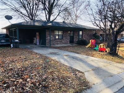 Sallisaw Single Family Home For Sale: 814 Meadowlark