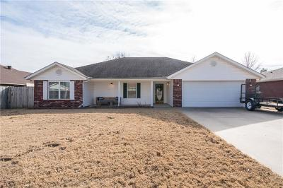 Sallisaw Single Family Home For Sale: 1206 Marie DR