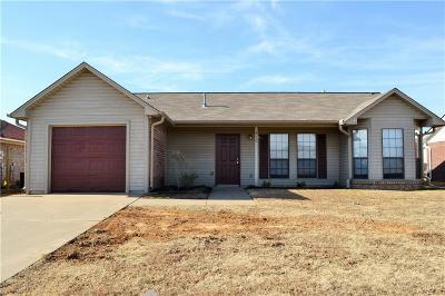 Van Buren Single Family Home For Sale: 820 S 39th ST
