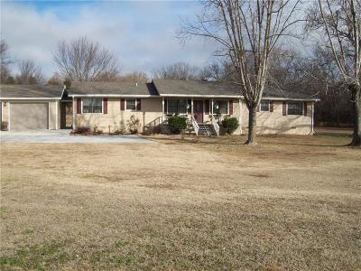 Muldrow Single Family Home For Sale: 474727 E 1050 RD