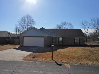 Sallisaw Single Family Home For Sale: 1420 Lessley LN