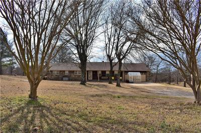 Sequoyah County Single Family Home For Sale: 467718 E 1107 RD
