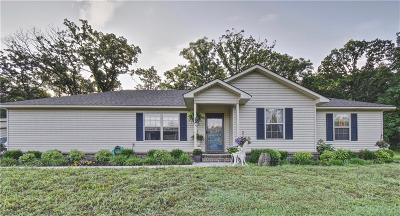 Muldrow OK Single Family Home For Sale: $155,000
