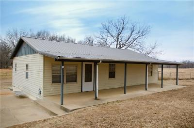Muldrow OK Single Family Home For Sale: $98,000