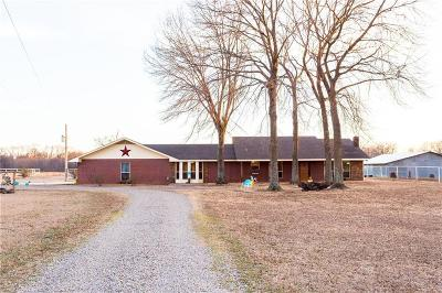 Muldrow Single Family Home For Sale: 469226 1090 RD