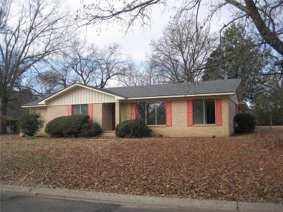 Sallisaw OK Single Family Home For Sale: $129,900