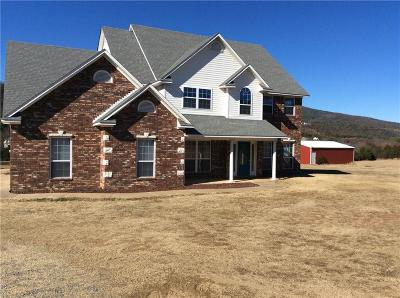 Poteau Single Family Home For Sale: 33693 Pleasant Valley RD