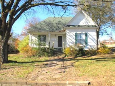 Greenwood Single Family Home For Sale: 619 N Gov Bass Little ST
