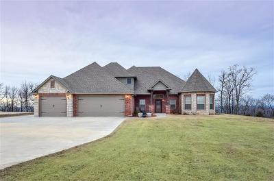 Roland Single Family Home For Sale: 108764 S 4767 RD
