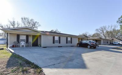 Muldrow Multi Family Home For Sale: 108 A/B 110 A/B Baker ST