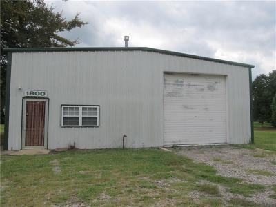 Pocola Commercial For Sale: 1800 E Pryor AVE