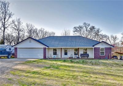 Muldrow Single Family Home For Sale: 476221 E 1085 RD
