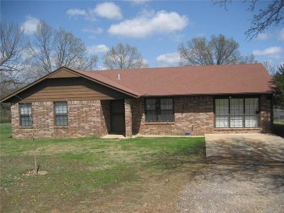 Muldrow OK Single Family Home For Sale: $119,900