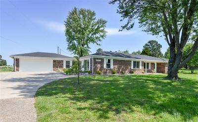 Muldrow Single Family Home For Sale: 476605 1060 RD