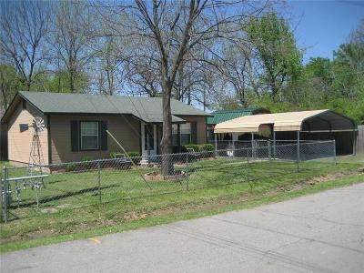 Muldrow OK Single Family Home For Sale: $57,900
