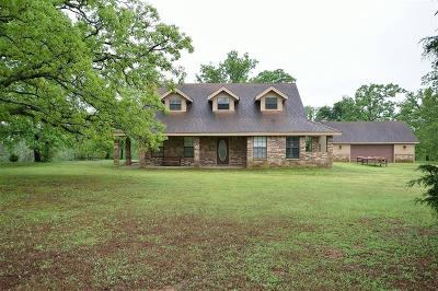 Muldrow Single Family Home For Sale: 474194 E 1050 RD