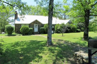 Mountainburg Single Family Home For Sale: 13516 Old Locke RD