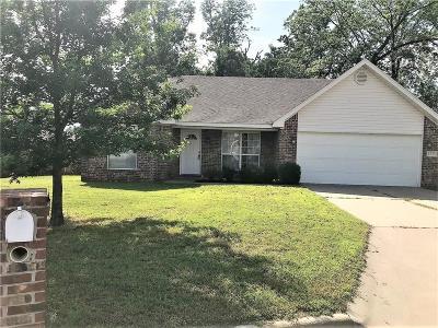 Van Buren Single Family Home For Sale: 1737 Red Oak CIR