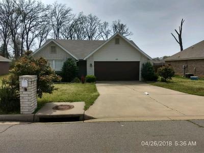 Van Buren Single Family Home For Sale: 2601 Park AVE
