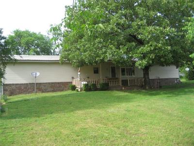 Muldrow OK Single Family Home For Sale: $109,000