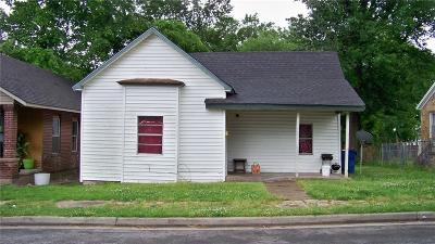 Fort Smith AR Single Family Home For Auction: $85,000
