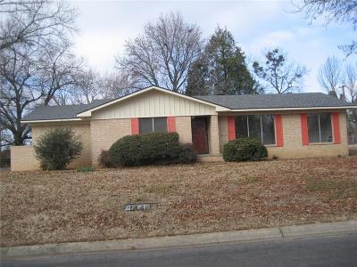 Sallisaw OK Single Family Home For Sale: $129,900