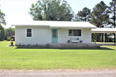 Poteau Single Family Home For Sale: 32521 Gilmore RD