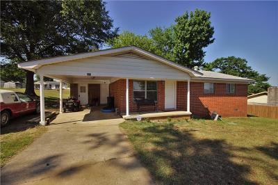 Greenwood Single Family Home For Sale: 208 E Joplin ST