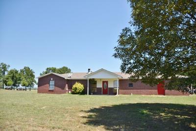 Muldrow Single Family Home For Sale: 474139 E 1050 RD