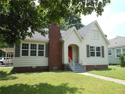 Fort Smith AR Single Family Home For Sale: $137,900