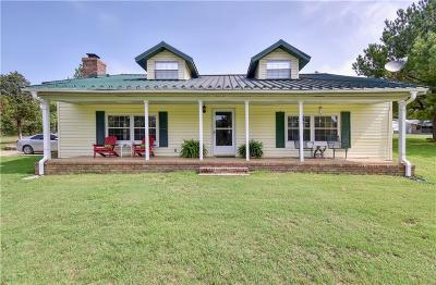 Muldrow Single Family Home For Sale: 473359 E 1090 RD