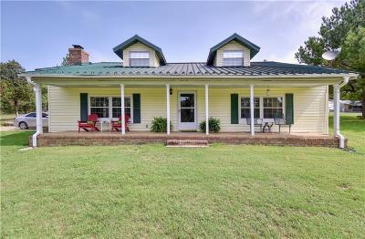 Muldrow Single Family Home For Sale: 473359 E 1090 Road