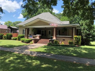 Sallisaw Single Family Home For Sale: 311 E Creek ST