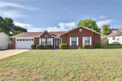 Greenwood Single Family Home For Sale: 2006 Cherrybark DR
