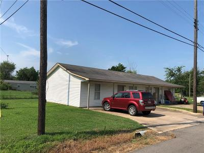 Muldrow Multi Family Home For Sale: 407 SW 3rd ST