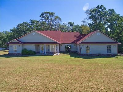 Sequoyah County Single Family Home For Sale: 108197 S 4803 RD