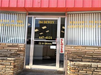 Poteau Commercial For Sale: 204 Dewey