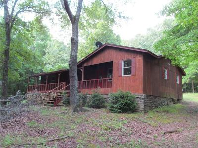 Mountainburg Single Family Home For Sale: 9622 Morgan Hollow TR