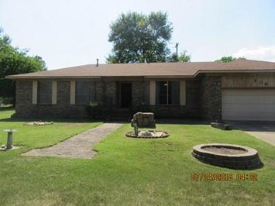 Arkoma OK Single Family Home For Sale: $86,750