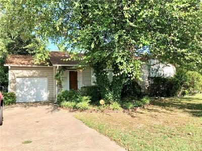 Fort Smith AR Single Family Home For Sale: $71,500