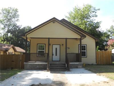 Fort Smith Single Family Home For Sale: 1721 N 8th ST