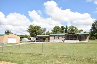 Sallisaw Single Family Home For Sale: 459025 E 1115 DR