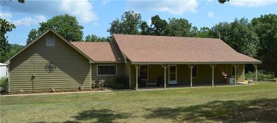Poteau Single Family Home For Sale: 34268 Cooper RD