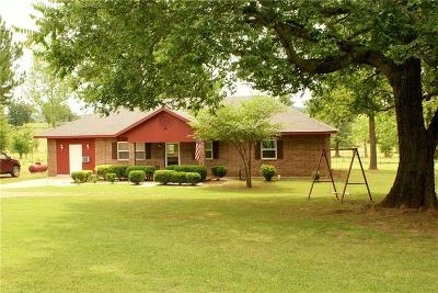 Heavener Single Family Home For Sale: 16173 Hontubby RD