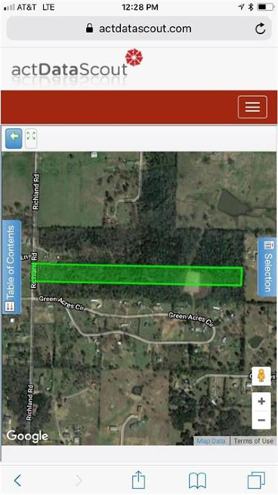 Alma Residential Lots & Land For Sale: TBD Richland RD